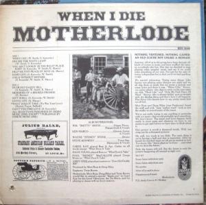 MOTHERLODE 1969 B
