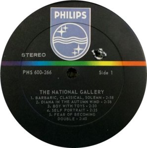 NATIONAL GALLERY 1968 D