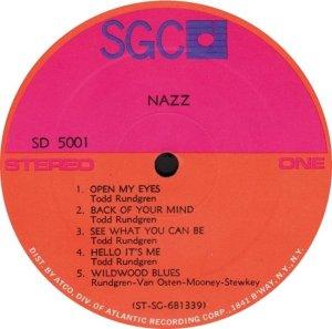 NAZZ 1968 C