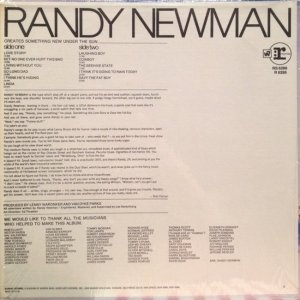NEWMAN RANDY 1968 B