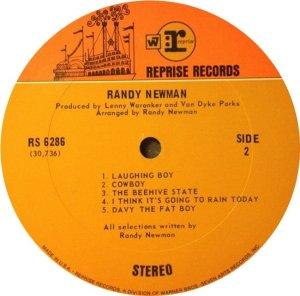 NEWMAN RANDY 1968 D