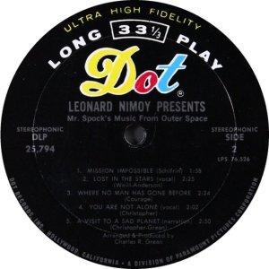 NIMOY L - 1967 D