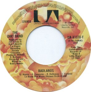 NITTY GRITTY DIRT BAND - UA 1378 A
