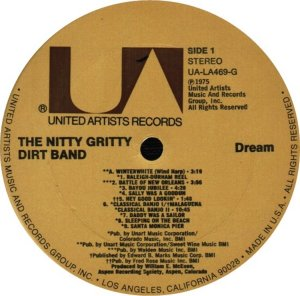 NITTY GRITTY LP UA 469 C