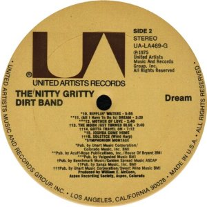 NITTY GRITTY LP UA 469 D