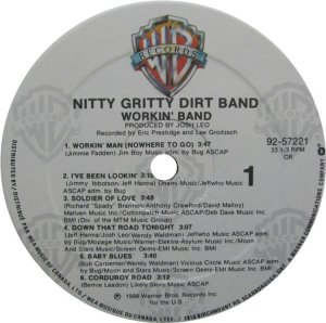 NITTY GRITTY LP WB 25722 C