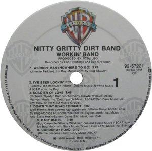 NITTY GRITTY LP WB 25722 C