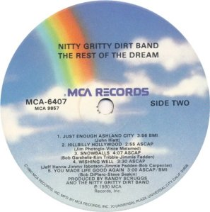 NITTY GRITTY - MCA 6407 D