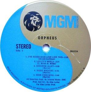 ORPHEUS 1968 C