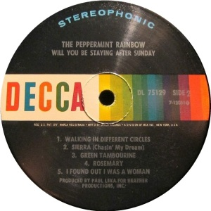 PEPPERMINT RAINBOW 1969 C