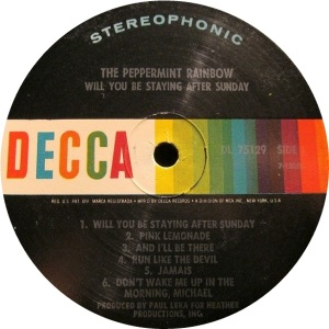 PEPPERMINT RAINBOW 1969 D