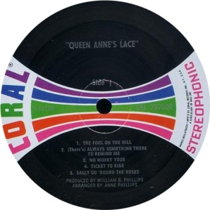 QUEEN ANN'S LACE 1969 C
