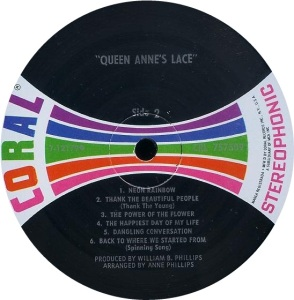 QUEEN ANN'S LACE 1969 D