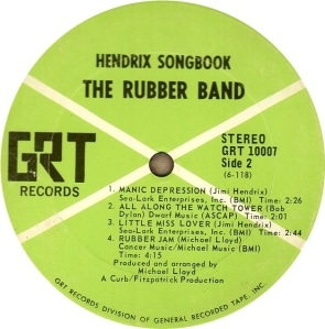 RUBBER BAND 1969 D