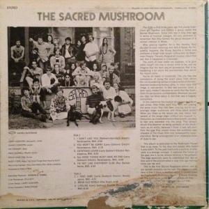 SACRED MUSHROOM 1969 B