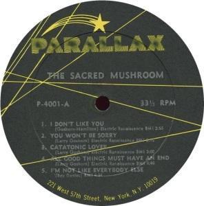 SACRED MUSHROOM 1969 C