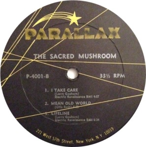 SACRED MUSHROOM 1969 D