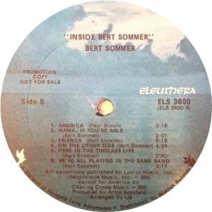 SOMMER BERT 1969 C