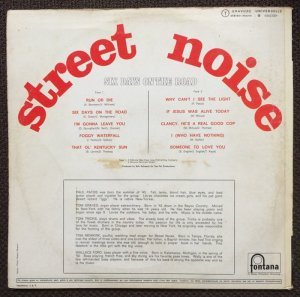 STREET NOISE 70 B