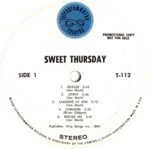 SWEET THURSDAY 1969 C