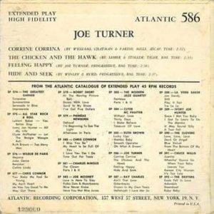 TURNER IVORY JOE 1957 01 B