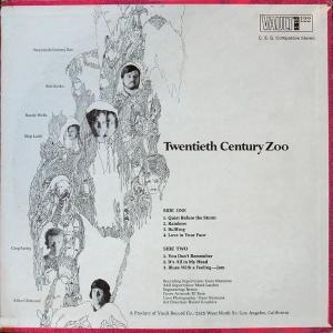 TWENTIETH CENTURY ZOO 1969 B