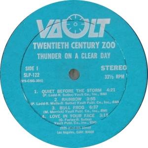 TWENTIETH CENTURY ZOO 1969 C