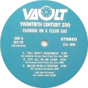 TWENTIETH CENTURY ZOO 1969 D