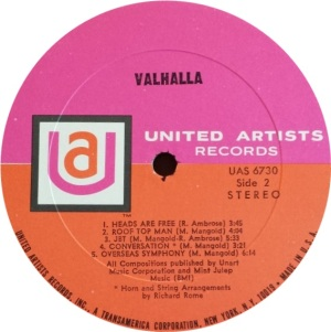 VALHALIA 1969 D