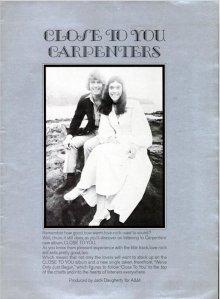 1970-09-05 CARPENTERS