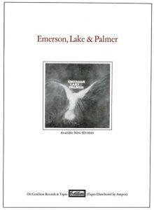 1971 - 01 EMERSON LAKE PALMER