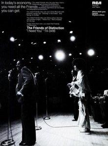 1971 - 01 FRIENDS OF DISTINCTION