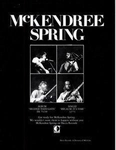 1971 - 01 MCKENDRIE SPRING