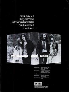 1971 - 02 MCDONALD AND GILES
