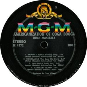 MASEKELA HUGH 1965 C