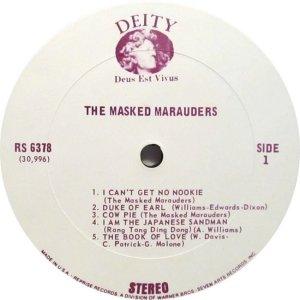 MASKED MARAUDERS 1969 C