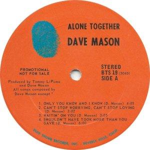 MASON DAVE 1970 C