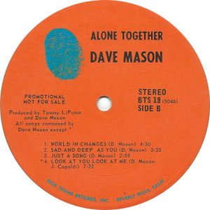 MASON DAVE 1970 D