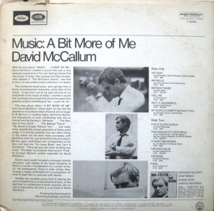 MCCALLUM DAVID 1967 B