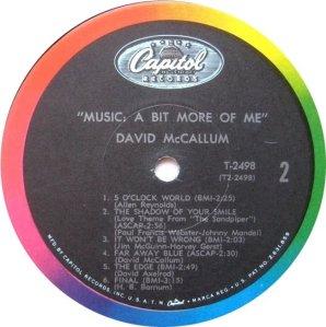 MCCALLUM DAVID 1967 D
