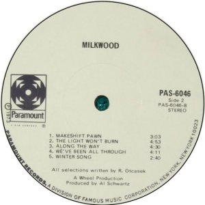MILKWOOD 1972 D