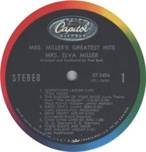 MILLER MRS 1966 B