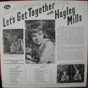 MILLS HAYLEY 1962 B