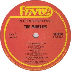 MIRETTES 1968 D
