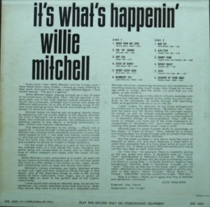 MITCHELL WILLIE 1966 B