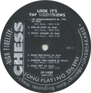 MOONGLOWS 1958 D