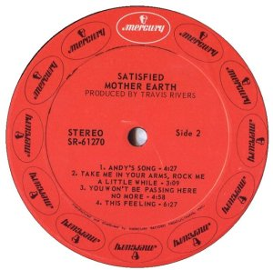 MOTHER EARTH 1970 D