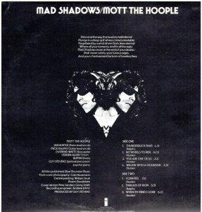 MOTT HOOPLE 1970 B