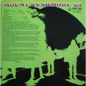 MOUNT RUSHMORE 1969 B