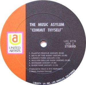MUSIC ASYLUM 1970 D